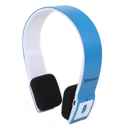 Hde Slim Wireless Bluetooth V3.0 Stereo Headset For Ps3, Tablets, Mp3 Players, And Other Bluetooth Devices (Blue)