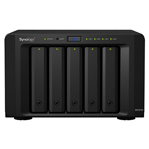 Synology DiskStation DS1515+ 5 Bay Enclosure Desktop Network Attached Storage