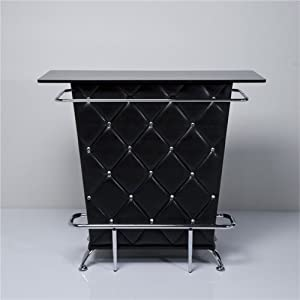Lounge house bar table counter minibar design furniture cocktailbar black fro - Mini bar table design ...