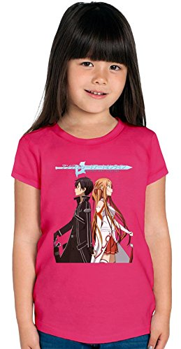 Sword Art Online Team Ragazze T-shirt 12+ yrs