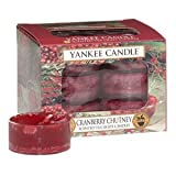 Yankee Candles Tea Lights (12 x Cranberry Chutney)