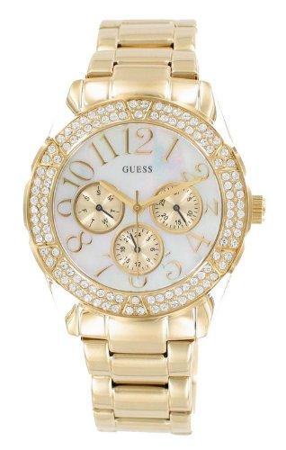 GUESS Gold-Tone Bracelet Watch