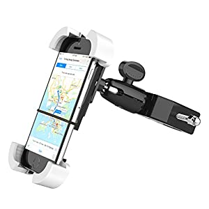 1byone Universal Adjustable Bike Mount for iPhone 6s, 6s plus, 6, 6 plus, iPod, Samsung Galaxy, HTC, Nokia, Lumia, Google Nexus, Sony, GPS