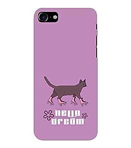 EPICCASE Hello Dream Mobile Back Case Cover For Apple iPhone 7 (Designer Case)