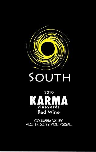 "2010 Karma Vineyards ""South"" Rhone Style Red Blend 750 Ml"