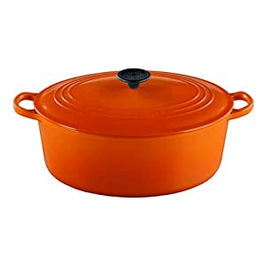 Le Creuset Enameled Cast-Iron 8-Quart Oval French Oven, Flame