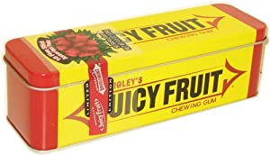 Wrigley Juicy Fruit Heritage Collectible Chewing Gum Tin