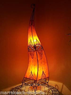 Moroccan Henna Lamp Marrakesh 120 Cm Orange Lighting