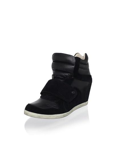 Koolaburra Women's Charlie Fashion Sneaker  - Black