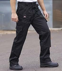 Lee Cooper Workwear Trousers Black 30/L