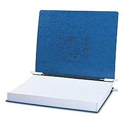 GBC - Pressboard Hanging Data Binder, 14-7/8 x 11 Unburst Sheets, Dark Blue