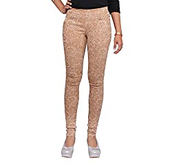 Toko Women's Jeggings (TOKOPRINTJEGGING_Beige_30)