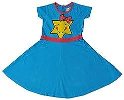 Pinehill Girls' Dress (Sky Blue, 11-12 Years)