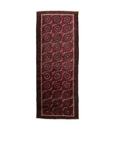 QURAMA Alfombra Persian Mached Rojo/Multicolor 295 x 103 cm