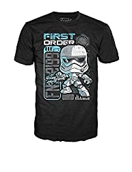 Funko POP! Tees: Star Wars The Force Awakens First Order Stormtrooper Riot Control T-Shirt - XL