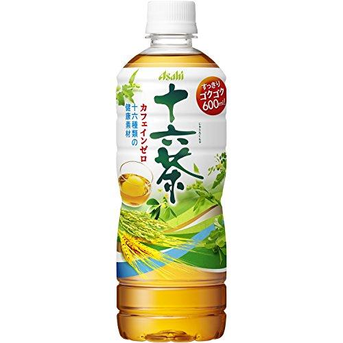 アサヒ飲料 十六茶 PET増量ボトル 600ml×24本