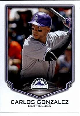 2016 Topps MLB #300 Carlos Gonzalez Colorado Rockies Baseball Sticker-MINT