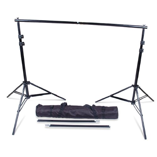 SP2000 Backdrop Background Support Stand For Muslins, Scenic Backdrops and Chromakey Greenscreens or Bluescreens