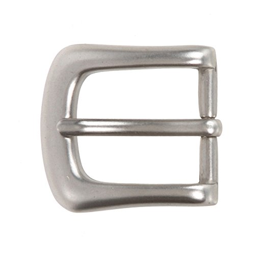 "1"" (25 mm) Nickel Free Single Prong Horseshoe Belt Buckle Color: Antique Silver"