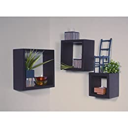 Mahogany Stained Wall Cubbies - Set of 3 from target.com