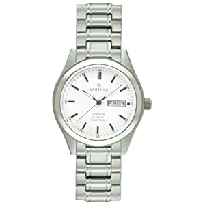 Sartego Men's Barcelona Titanium Dress Watch