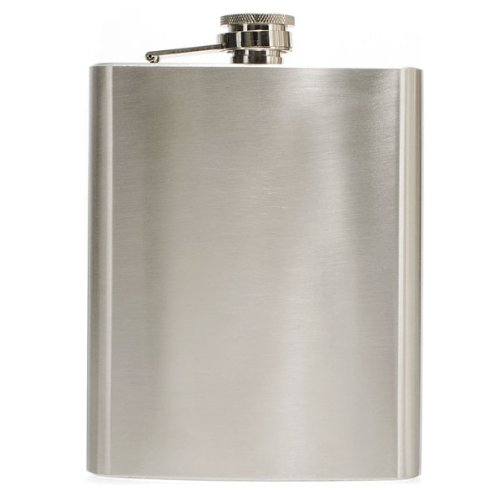 """""""Hip Liquor Alcohol Flask 18 oz With Stainless Steel Screw Cap"""" shopping"""