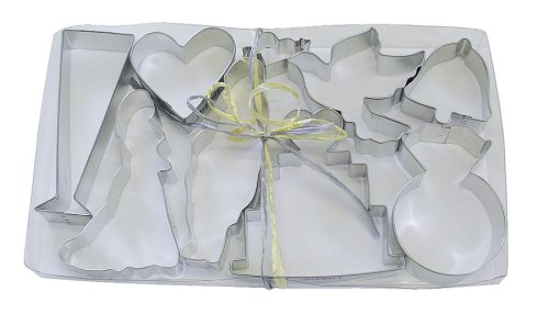 R & M Wedding 9 Piece Cookie Cutter Set