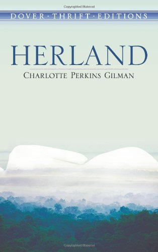 The cover of Charlotte Perkins Gilmore's Herland