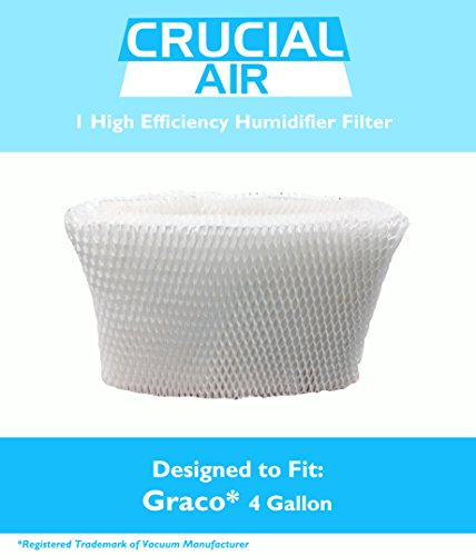 Crucial Air Graco Humidifier Filter, 4-Gallon, Fits Model 2H02 and TrueAir 05521 - 1