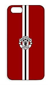 Apple iPhone SE Manchester United Football Club Design Back Cover - Printed Designer Cover - Hard Case - APSECMBMUFC0184