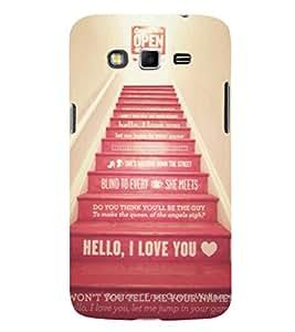 EPICCASE Love Steps Mobile Back Case Cover For Samsung Galaxy Grand Prime (Designer Case)