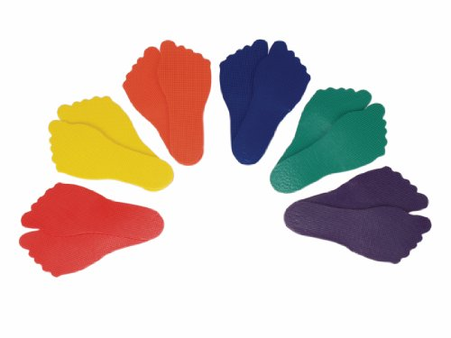 American Educational Products Feet Markers Assorted