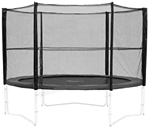 Filet de protection de remplacement pour trampoline 244 cm armatures non fo - Filet de protection trampoline 244 ...