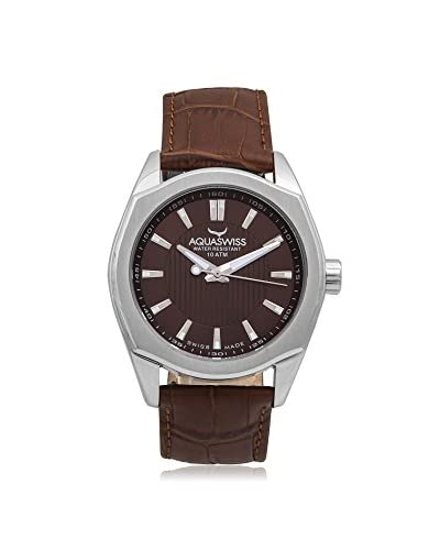 Aquaswiss Men's 20G4003 Classic IV Brown Leather Watch