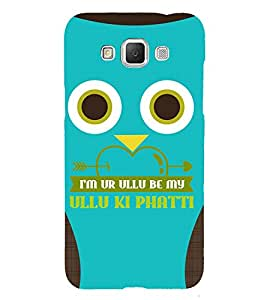 Graphical Cute Owl 3D Hard Polycarbonate Designer Back Case Cover for Samsung Galaxy Grand 3 G720 :: Samsung Galaxy Grand Max G720