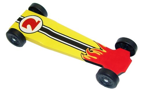 Inferno EX Extreme Speed Pinewood Derby Car Kit (Basic)