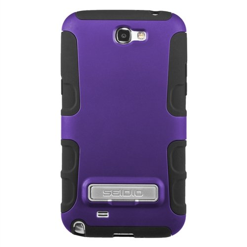 Good price for Seidio CSK3SSGT2K-PR DILEX Case with Metal Kickstand for use with Samsung Galaxy Note 2 – Amethyst