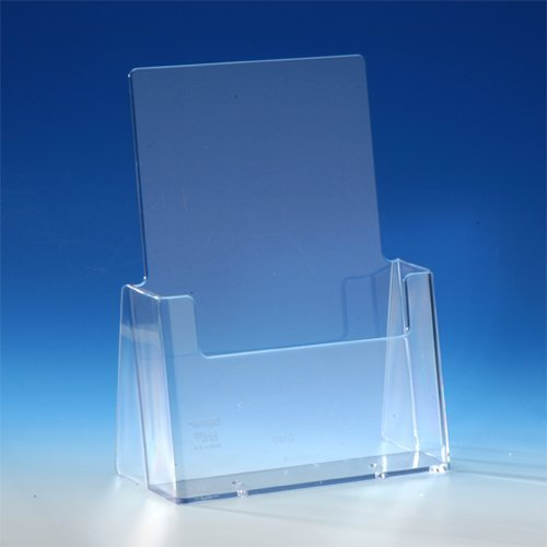 TAYMAR-Tisch-Prospekthalter-DIN-A5-glasklar-C160