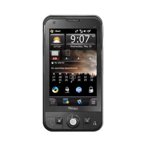 Pharos Traveler 137 3G GPS Unlocked Phone with Quad-Band 850, 900, 1800, 1900 GSM, GPRS, EDGE, Turn-by-Turn Voice Guidance, Free Live Traffic, Gas Prices, Movie Times, WVGA Display, Wi-Fi, Stereo Bluetooth, FM Tuner, and 3.1MP Auto Focus Camera--International Version with Warranty (Black)