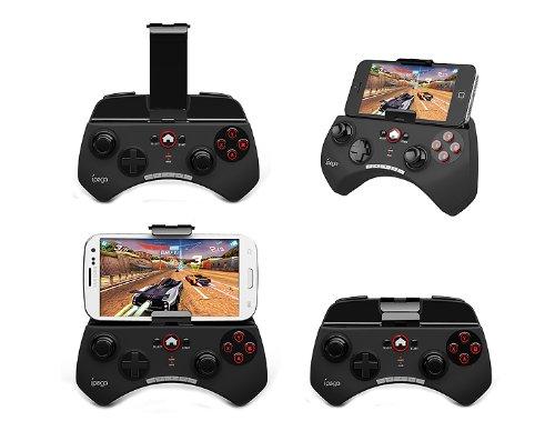 iPEGA Bluetooth gamepad PG-9025 スマホゲームコントローラ iPhone andorid タブレット対応 カラー:ブラック