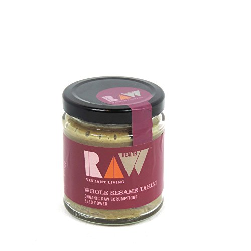 raw-health-organic-spreads-whole-sesame-tahini-170g-case-of-6