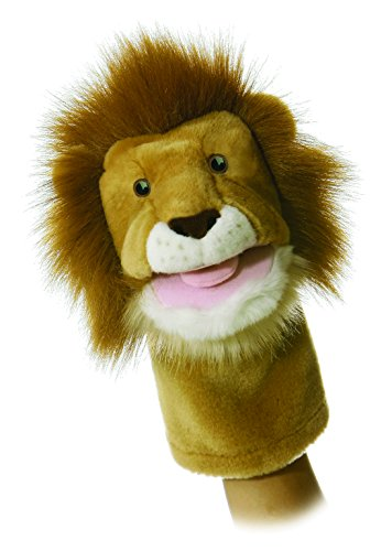 """Aurora 10"""" Leon Lion Hand Puppet"""