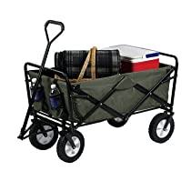 Folding  Mac Sports Green Wagon