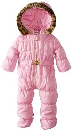 Amazon.com: Juicy Couture Baby Baby-Girls Newborn Snowsuit