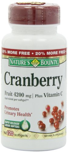 Natures-Bounty-Cranberry-Fruit-4200-mg-100-Softgels