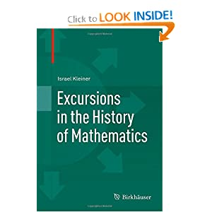 Excursions in the History of Mathematics online