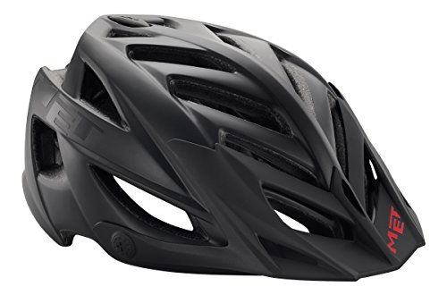MET All Mountain casco da bicicletta 'Terra' nero modello 2016