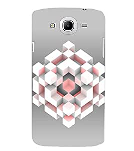 PRINTSWAG CUBE Designer Back Cover Case for SAMSUNG GALAXY MEGA 5.8