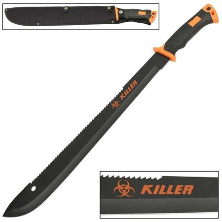 Machete With Saw