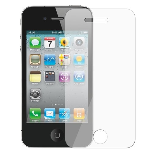 2 LCD Anti-Glare Screen Schutzfolie Guard für iPhone 4 s 4s 4 NEU